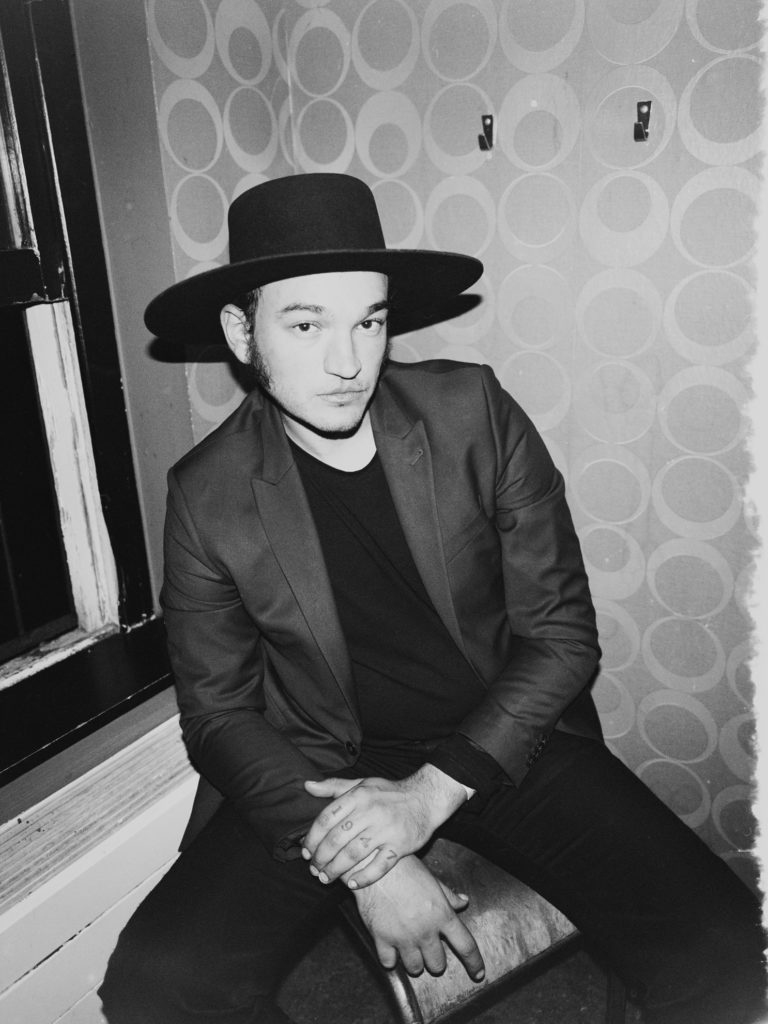 Danny Lee Blackwell / Night Beats at Rotown Rotterdam for BLACK CURRANT mag PORTRAITSshot by MICHÈLE MARGOT photography