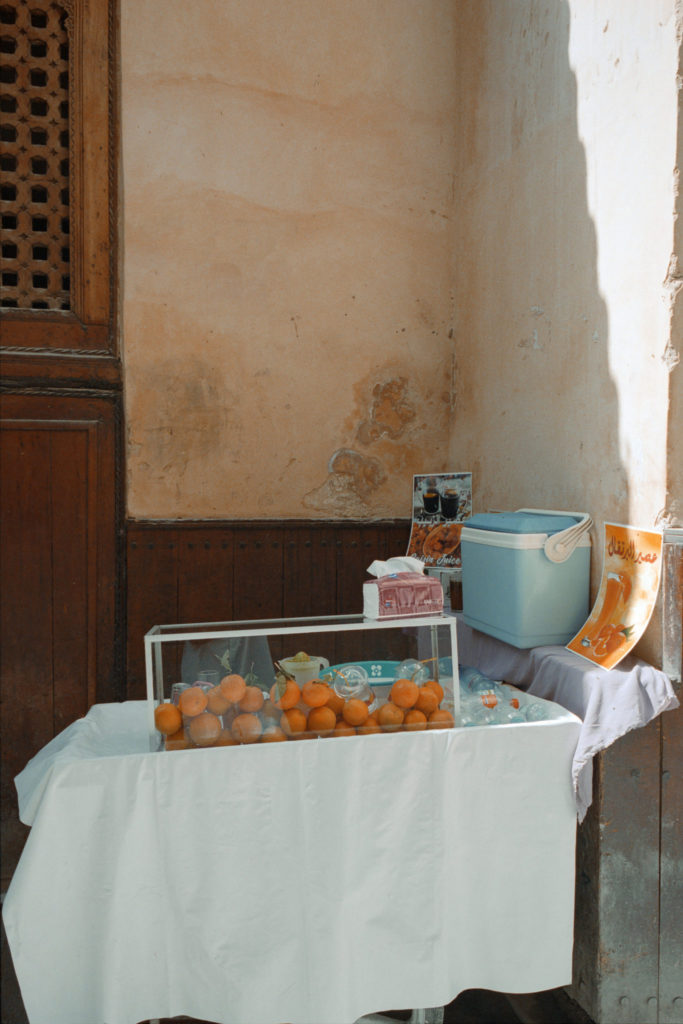 Les Oranges de Fes by Michèle Margot