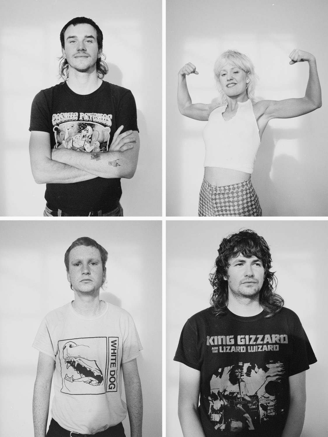 Amyl and the Sniffers for BLACK CURRANT mag