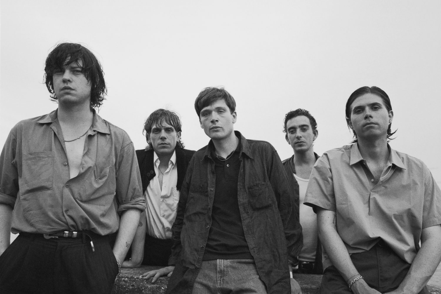 iceage at Loose Ends Festival Amsterdam for BLACK CURRANT mag PORTRAITS shot by MICHÈLE MARGOT photography