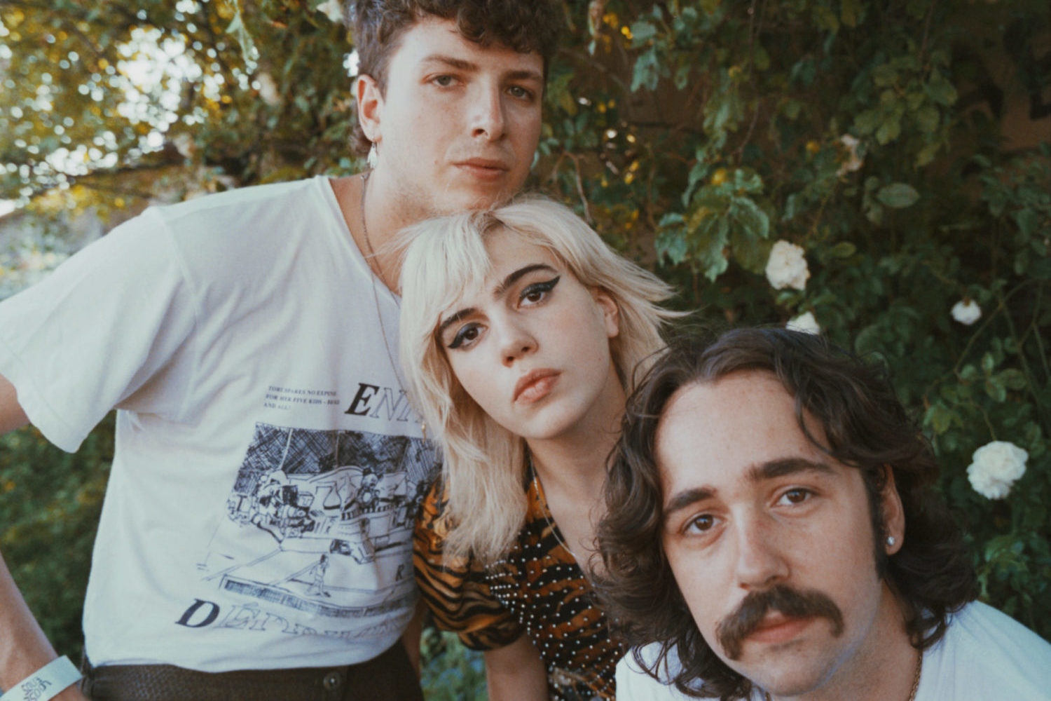 Sunflower Bean in Amsterdam for BLACK CURRANT mag PORTRAITS shot by MICHÈLE MARGOT photography